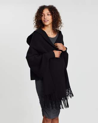 Angel Maternity Maternity Wool Blend Cape
