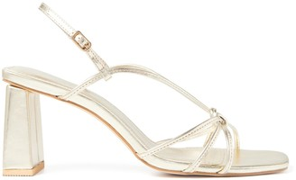 Forever New Paris Knot Heels - Gold - 36
