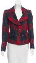 Vivienne Westwood Wool Plaid Blazer w/ Tags