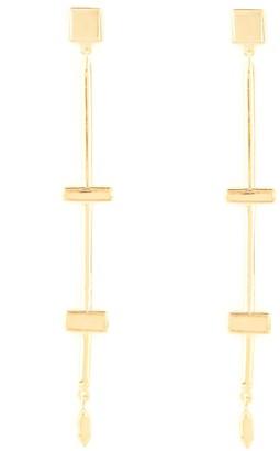 Shop Lausanne Gold Stepping Stone Dangle Earrings