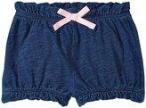 Splendid Indigo Bloomer Shorts (Baby) - Dark Stone - 3-6 Months