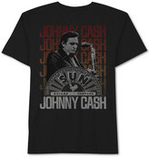 JEM Men's Johnny Cash On Stage Graphic-Print T-Shirt