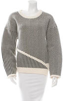 Opening Ceremony Assymmetrical Knit Sweater w/ Tags