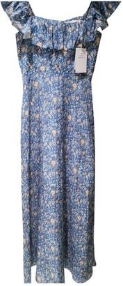Zimmermann Blue Linen Dresses