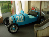 Vintage Race Car Bed