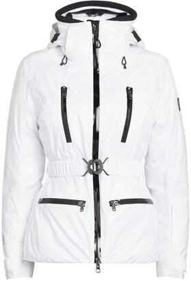 Giorgio Armani Belted Shield Ski Jacket