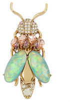 Betsey Johnson Pave Crystals, Stones Insect Pins