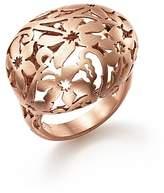 Pomellato Arabesque Ring in 18K Matte Rose Gold