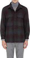 Vince Men's Sherpa-Lined Shirt Jacket-DARK GREY