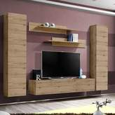 Orren Ellis Volpe Floating Entertainment Center for TVs up to 70 inches Orren Ellis Color: Oak