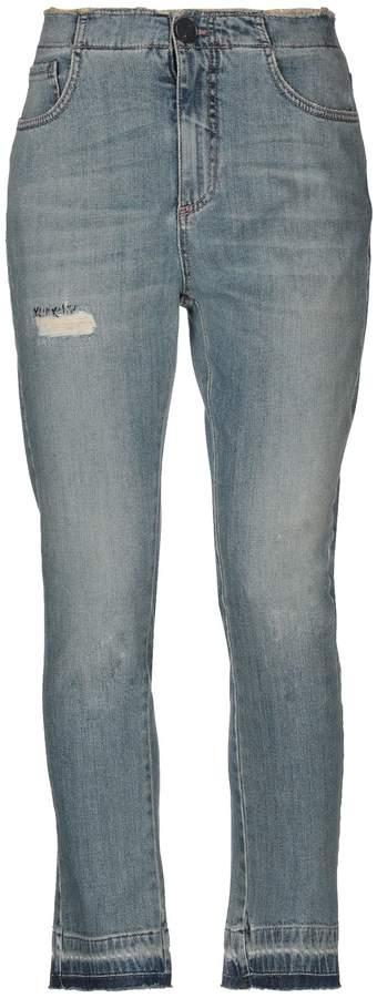 Alysi Denim pants - Item 42707798MN
