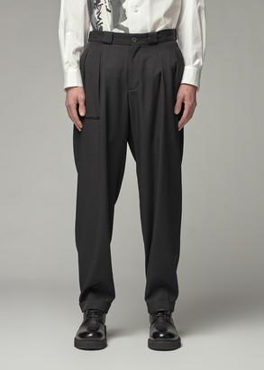 Yohji Yamamoto Men's Hemmed Pant in Black Size 3 100% Wool