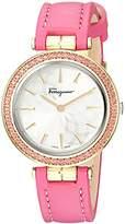 Salvatore Ferragamo Women's FIB030015 SPARKS Analog Display Quartz Pink Watch