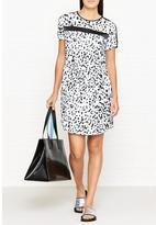 Calvin Klein Damia Printed Short Sleeve Dress