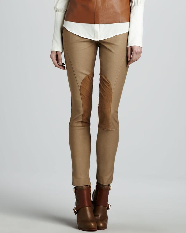 Rachel Zoe Julietta Cropped Riding Pants