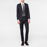 Paul Smith Men's Tailored-Fit Navy Wool-Twill 'Soho' Suit