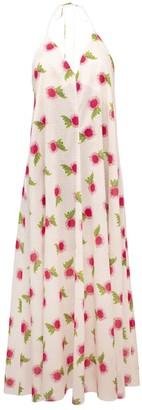 Lake Studio Floral Cotton Midi Dress