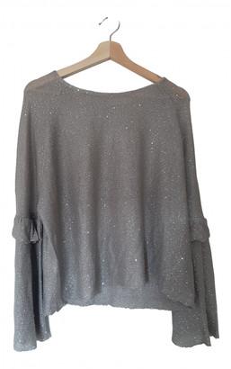 Zara Grey Polyester Knitwear