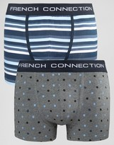 French Connection 2 Pack Boxers