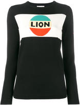 Bella Freud Lion stripe intarsia jumper - women - Wool - M