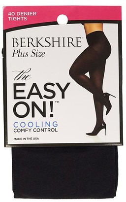 Berkshire Plus Size Easy On Cooling Control Top Tights