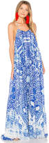 Rococo Sand Maxi Dress in Blue. - size M (also in S,XS)