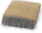 Lexington Company Lexington Urban Wool Throw Yellow/Grey 130x170cm