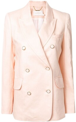 Zimmermann Super Eight double-breasted blazer