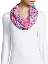 Lilly Pulitzer Printed Cotton Infinity Scarf