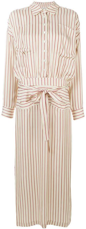 ATTICO striped print dress