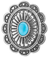 American West Treasures Turquoise Magnetic Concha Insert