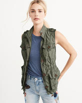Abercrombie & Fitch Military Twill Vest
