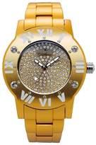 Gallucci Ladies Girls Fashion Light Swarovski Crystals Aluminium Quartz Watch