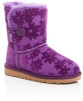 UGG Girls' Bailey Button Flowers Boots - Little Kid, Big Kid