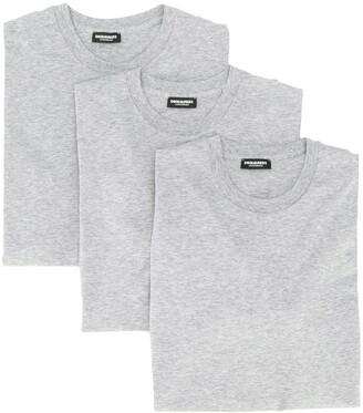 DSQUARED2 plain T-shirts