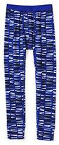Classic Little Boys Thermaskin Heat Print Pants-Brilliant Cobalt Geo Print