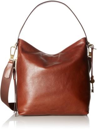 Fossil Women's Maya Leather Small Hobo Handbag