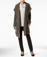 Rachel Roy Plaid Sweater Coat