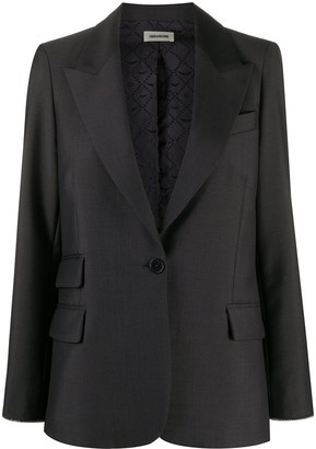 Zadig & Voltaire Venus single breasted jacket