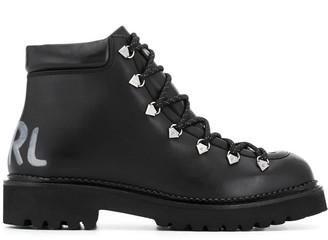 Karl Lagerfeld Paris Kombat II ankle boots