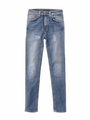 Nudie Jeans Women's Hightop Tilde Mended 34/32