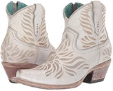 Corral Boots G1480 (White) Women's Boots