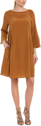 Max Mara Silk Shift Dress