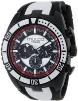 Mulco Titans Wave Collection MW5-1836-026 Women's Analog Watch
