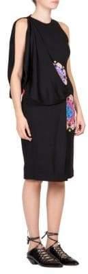 Givenchy Mandala Printed Jersey Dress
