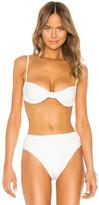 Haight Crepe Vintage Bikini Top