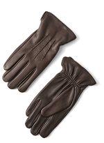 Frank & Oak Deerskin Gloves in Dark Brown