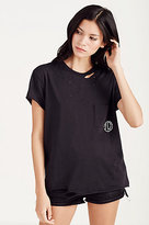 True Religion Distressed Pocket Womens Tee