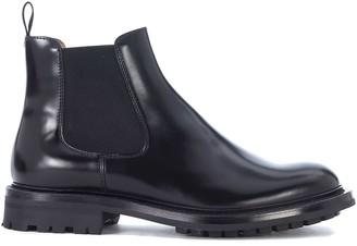 Church's Churchs Genie Black Leather Ankle Boots