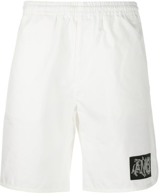 Alexander McQueen Logo Patch Track Shorts